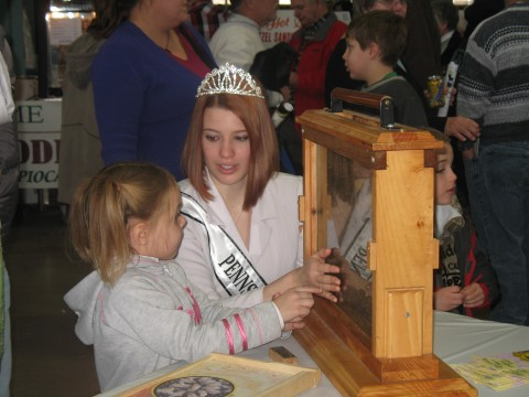 2011 Honey Queen at PA State Farm Show